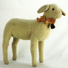 Antique Steiff Lamb ca1910