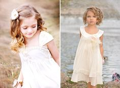 Vintage flower girl dresses the one one the right- love!