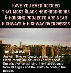 The ghettos they are trapped and are hidden in holes they have become plunder with no one to rescue them or no one to say,send them back.
