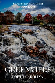 Why Downtown Greenville, SC was voted one of  USA's finest by Forbes magazine! // yeahTHATgreenville