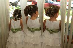 flower girl hairstyles | flower girls