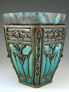 ronbeckdesigns: Daum  Majorelle Art Nouveau...