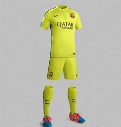 Tercera equipación del Barça 2014-2015