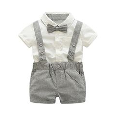 Jarsh Kids Baby Boy Gentleman Bow Tie Short Sleeve Shirt+... https://www.amazon.ca/dp/B07BN93P2J/ref=cm_sw_r_pi_dp_U_x_-x61AbTVKA2NR