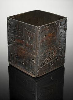 NW Coast bentwood box