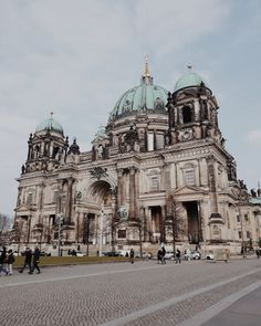 Berliner Dom, Germany - by Adelina S. Lets Run Away, Beautiful Places To Travel, Travel Scrapbook, Life Goals, Mother Earth, Adventure Travel, Taj Mahal, Places To Go, Buildings