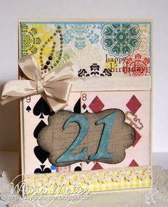 21st birthday card!