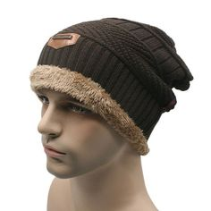 a739451c032 Unisex S Camping Hat Winter Beanie Baggy Warm Wool Ski Cap Hot