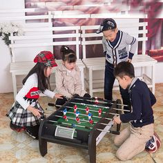 50.00$  Watch here - http://alikvc.worldwells.pw/go.php?t=32618512170 - Mini Classic Desktop Football Game Multi Player Father Mother Baby Table Soccer Game 50.00$