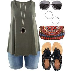 Polyvore Summer Plus Size | Summer Ready - Plus Size by alexawebb on Polyvore find more women fashion ideas on www.misspool.com