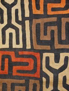 Kuba Cloth Ceremonial Skirt/Panel Raffia by EthosEthnicArt on Etsy textile art, Kuba Cloth Ceremonial Skirt/Panel Raffia Applique Textile Currency African African Textiles, African Fabric, African Prints, African Patterns, African Colors, Arte Tribal, Tribal Art, Art Texture, Afrique Art