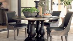 Bernhardt Belgian Oak Dining Room Set, now available at PSF! Dining Table Top, Beautiful Dining Rooms, Furniture, Oak Dining Room, Oak Dining Sets, Bernhardt Furniture, Dining Chairs, Oak Dining Room Set, Dining Room Sets