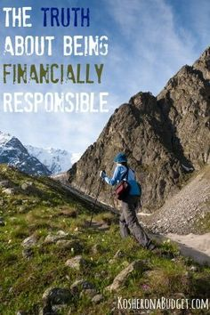 Six years after pulling ourselves out of $30K in consumer debt and then saving up for an emergency fund, I've finally realized the TRUTH about being financially responsible. It's hard. But it's so very worth it. (via KosheronaBudget.com)