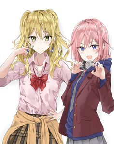 Matsuri e Yuzu Fanart Manga, Manga Art, Manga Anime, Anime Art, Citrus Anime, Harley Quinn, Best Freinds, Yuri Anime, Shall We Dance