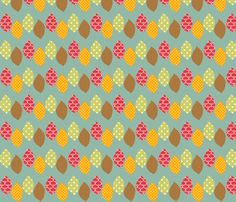 apple_leaf fabric by petunias on Spoonflower - custom fabric - SO many wonderful fabrics on this site. Of course they are pricey, isn't that the way it goes?