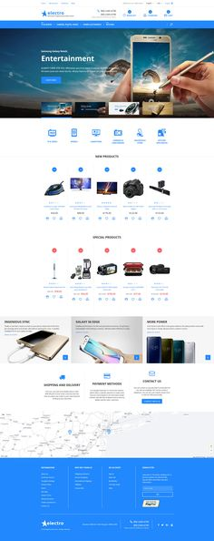 Electronic Products Magento Theme