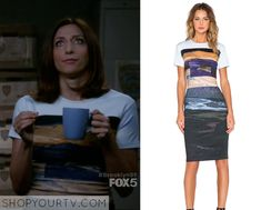 Brooklyn Nine Nine: Season 3 Episode 5 Gina's Landscape Print Dress