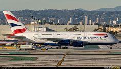 British Airways G-XLEG at LAX