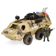 Kids Fun Attack Force Die Cast Military Play Set Toy Tank Bunker Activity Set 3+