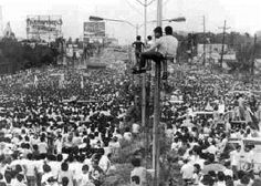 """Aside from ousting the Marcos dictatorship, one great impact of the first EDSA Revolution was the impression left on other countries reeling under authoritarian rule at the time. More explicitly, the general peacefulness which accompanied the ouster of an unpopular regime shocked the rest of the world accustomed to associating regime changes with violent revolutions. In the end, the successful non-violent """"Yellow Revolution""""sparked off other incidents of peaceful and not-so-peaceful…"""