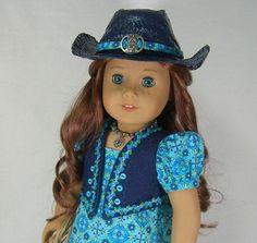 Sweet Sassy Western Cowgirl Dress Set Saige Nikki Josefina American Girl | eBay