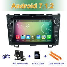 """Wholesale prices US $224.00  8"""" 1024*600 Quad Core Android 7.1 Car DVD Player GPS for Honda CRV CR-V 2006 2007 2008 2009 2010 2011 with BT Wifi Radio"""