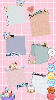 Notes Template, Collage Template, Planner Template, Templates, Graphic Wallpaper, Aesthetic Iphone Wallpaper, Galaxy Wallpaper, Kawaii Wallpaper, Bts Wallpaper