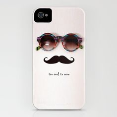 "going on my wish list-print reads ""too cool to care"""