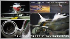 Aviation Action Planespotting @ ZRH WEF Traffic January 2019 Zurich, Aviation, January, Youtube, Instagram, Air Ride, Aircraft
