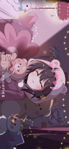 Pink Wallpaper Anime, Cute Pastel Wallpaper, Soft Wallpaper, Anime Scenery Wallpaper, Kawaii Wallpaper, Wallpaper Iphone Cute, Disney Wallpaper, Manga Anime Girl, Anime Girl Drawings