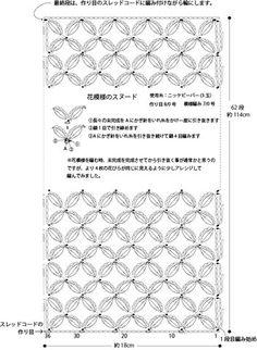リクエストの花柄スヌード/編み図 | ニッケビクターデザイナーのひとり言