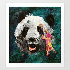 Pandamonium Art Print by Maximilian San - $14.00