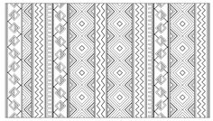 """Free coloring page coloring-adult-inca-aztec-mayan-pattern. Patterns inspired by Mayans, Aztecs and Incas   Join my grown-up coloring group on fb: """"I Like to Color! How 'Bout You?"""" https://m.facebook.com/groups/1639475759652439/?ref=ts&fref=ts"""