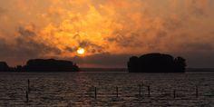Nieuw in mijn Werk aan de Muur shop: Sunrise over Dutch waters
