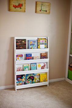 ana white book display shelf