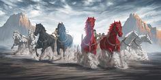 Zacharia's achtste visioen: wagens en een kroon