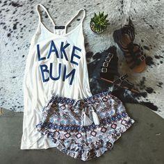 LAKE BUM    #fringebabes #fayettevillear