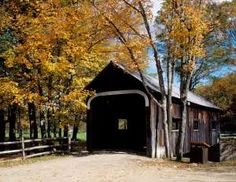 Covered bridge, Grafton, Vermont.