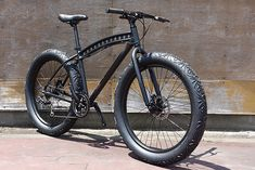 Custom fat tire bike