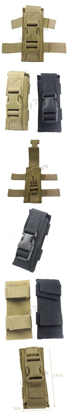 Outdoor Single Magazine Pouch Molle Utility Airsoft Paintball Hunting Military Adjustable Nylon Waterproof Belt Bag