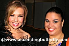 Ascending Butterfly Founder and Butterfly-in-Chief, Tracy Iglesias, meets Actress/Songstress Thalia Cosmopolitan for Latinas Fun Fearless Awards 2014 in New York City!