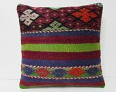 20x20 kilim pillow 20x20 large couch pillow 50x50 pillow cover large pillow sham pillowcase 20x20 decorative pillow blue pillow cover 25118