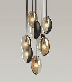 #interiordesign #lightingdesign #contemporarylighting #pendantlighting - tamera leigh staten - the annie oakley of contemporary product design ~ the modern sybarite - advice on interiors, art and design