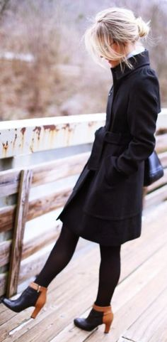 Perfect-Winter-Office-Attires-For-Women Casual Winter Work Outfits Casual Work Outfits Fall Work Outfits Casual Work Outfits, Winter Outfits For Work, Mode Outfits, Work Casual, Winter Work Shoes, Winter Work Clothes, Boots For Work, Work Outfits Office, Winter Office Wear