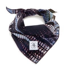 "Bones Society ""Kick Arse"" Dog Bandana - Shibori. The ultimate Accessory for your dog,"