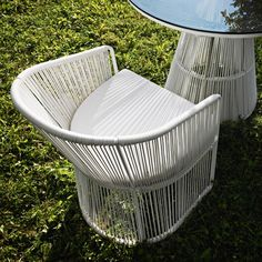 I pinned this Tibidabo Outdoor Dining Chair from the Decadent White Party event at Joss and Main!