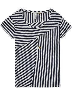 T-shirt géométrique