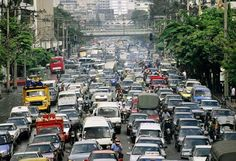 MANILA, PHILIPPINES – Due to the closure of several main roads in Metro Manila for the Asia-Pacific Economic Cooperation summit this week, commuters were forced to walk several kilometers just … Traffic Congestion, Facebook Photos, Travel Bugs, View Image, Adventure Travel, Places Ive Been, Environment, Street View, Pictures