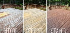 How to Stain a Deck - Olympic Maximum Naturaltone Semi-Transparent Exterior Stain + Sealant