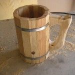 How-To: Make A Viking Style Beer Mug (Without Power Tools) | MAKE: Craft